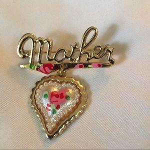 Mother pin beautiful